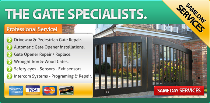 Gate repair Palm Springs CA
